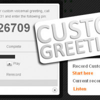 New Call Tracking Feature – Custom Greetings