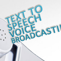 New Text to Speech Voice Broadcasting Software